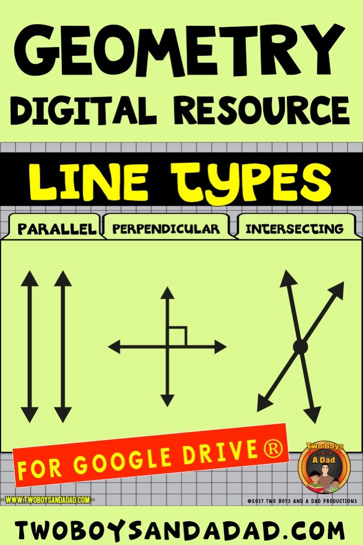 geometry types of lines for google drive interactive digital