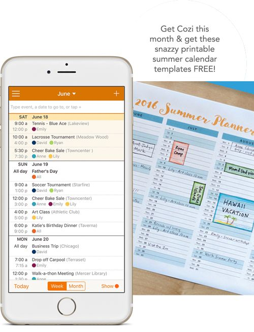 Cozi App via YourNerdyBestFriend.com. Free and bargain apps and technology to change the way you work and live!