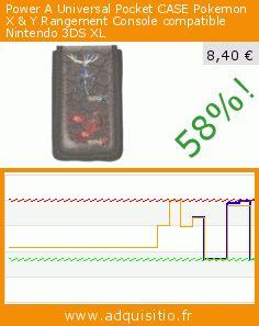 Power A Universal Pocket CASE Pokemon X & Y Rangement Console compatible Nintendo 3DS XL (Accessoire). Réduction de 58%! Prix actuel 8,40 €, l'ancien prix était de 19,90 €. https://www.adquisitio.fr/powera/universal-pocket-case