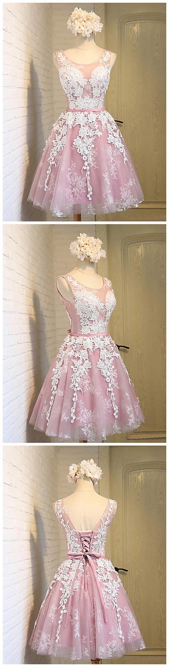 Pink Homecoming Dress,Pretty Homeco