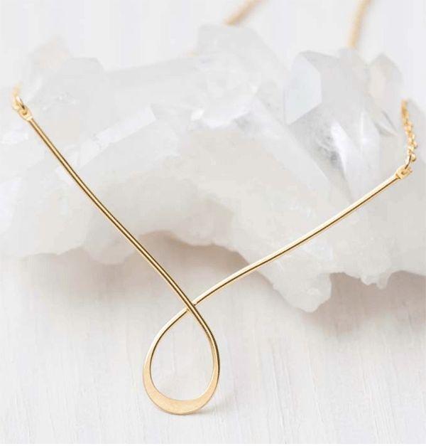 Delicato Gold Necklace