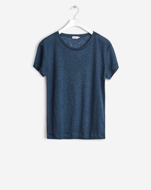 Linen T-shirt Grape - Tops & Blouses - Woman - Filippa K