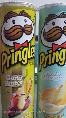 Global Grub Pringles Garlic Butter And Mayo Cheese Korea
