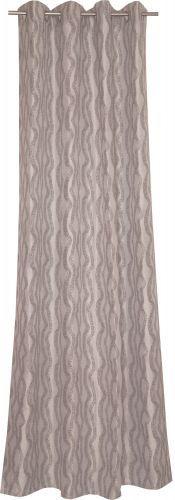 ESPRIT Puntos black Ösenschal - Ösenvorhang der Lifestyle-Marke ESPRIT blickdicht gewebt mit feinen Puenktchen #romodo.de