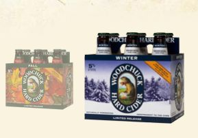 Woodchuck limited release Fall and Winter ciders. Mmmm...