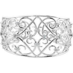 Diamond Cuff Bracelet Reeve and Knight. $732.00. Manufactured using up-to-date manufacturing techniques ensuring the highest quality and value. This jewelry is symbolic in nature and can be the perfect gift for any and all occasions. This item features a high polish finish for Excellent sparkle and pop. Promptly Packaged with Free Shipping and Free Gift Box... Perfect for Gift Giving. Completely redesigned and revamped for the year 2012. Save 71%!