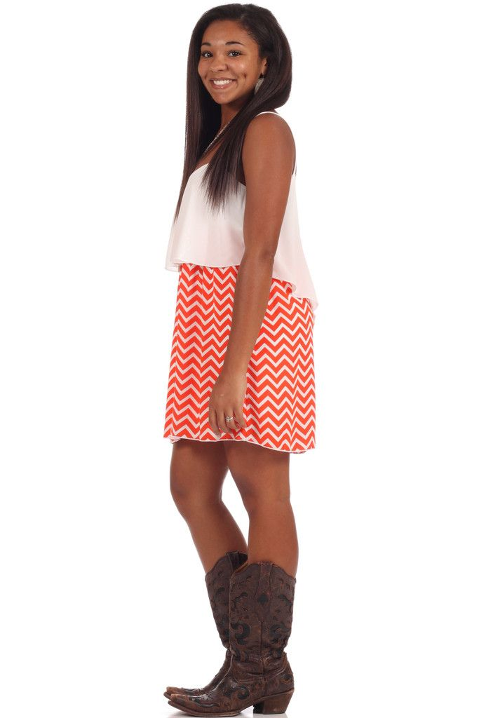 Give It Your All Dress - Orange44 – The Palm Tree Boutique