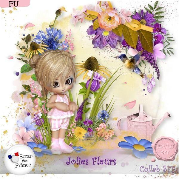 Jolies fleurs - collab SFF