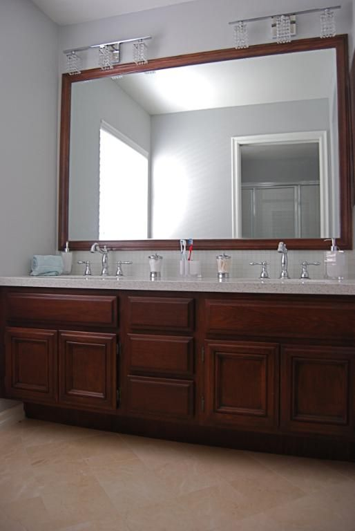 Bathroom Vanity Lights Over Mirror 42 best house images on pinterest | double sink vanity, bathroom