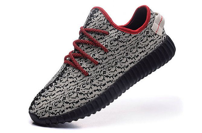 cb10666d1 Buy Adidas Kanye West Yeezy Boost 350 Wolf Grey Black Bright Crimson Shoe