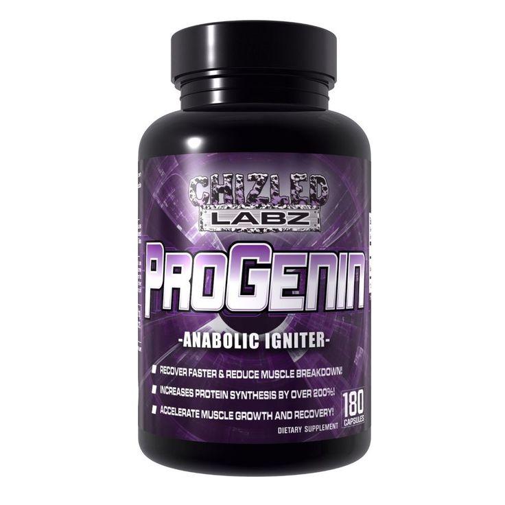 Chizled Labz ProGenin Laxogenin Anabolic Igniter Muscle Building Supplement #ChizledLabz