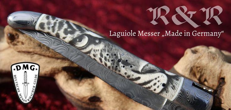 Laguiole Messer Made in Germany von Uwer Göring. Handgefertigte Laguiole Messer nach französischer Tradition mit deutscher Genauigkeit.