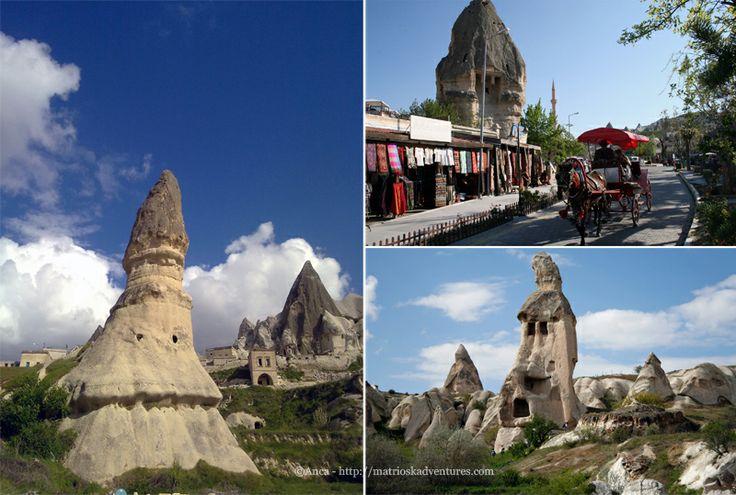 Göreme Cappadocia, Turchia http://matrioskadventures.com/2014/05/14/fiabesca-cappadocia-turchia-cosa-vedere-e-cosa-fare/