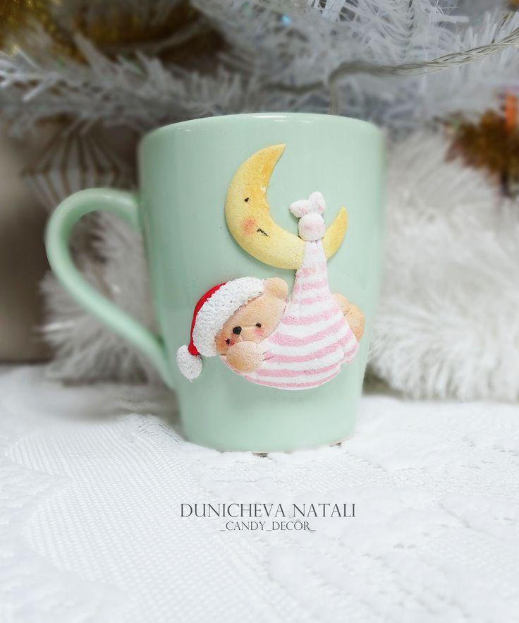 decor, christmas, polimer clay
