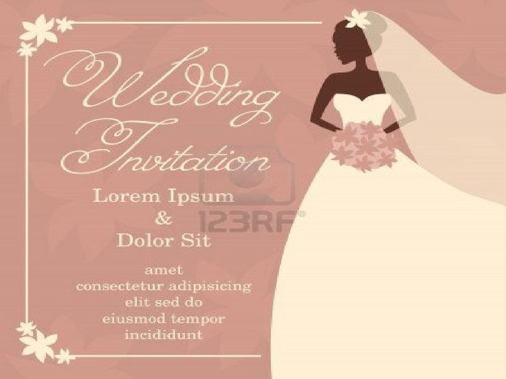 Diy Wedding Invitation Template Or Bridal Shower