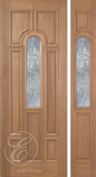 Exterior Solid Mahogany Excellent Revis Long Radius Decorative Glass    Seven Panel Black or Brass Triple Glazed Insulated Glass  Exterior Doors  84 best Exterior Solid Mahogany Doors images on Pinterest  . Exterior Doors With Glass. Home Design Ideas