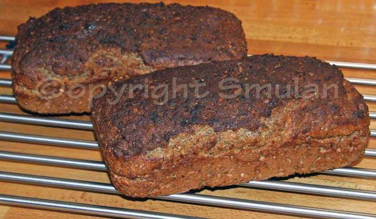 Grovt rågbröd med eller utan surdeg - Recept