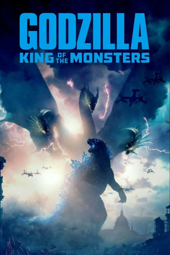 Godzilla King Of The Monsters Movie Poster Print Size 24 X 36 Fashion Home Garden Homedcor Postersprints E Godzilla Movie Monsters Download Movies