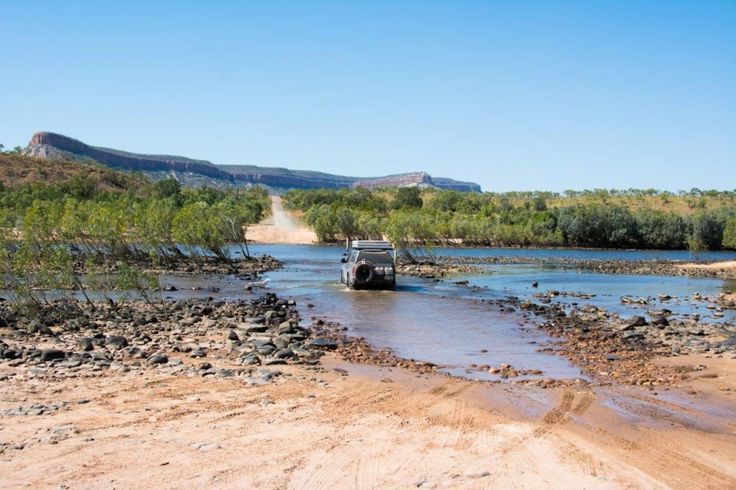 Pentecost river crossing, on the Gibb River Road