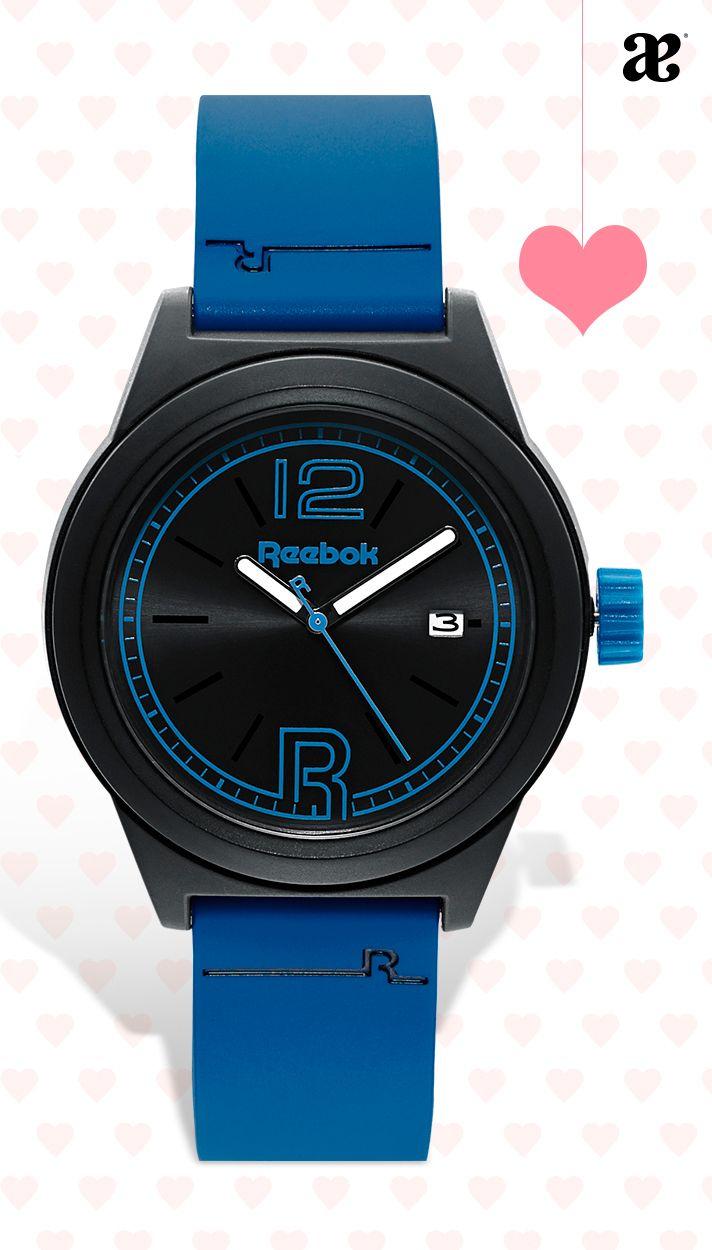 Ideas de regalos para sorprenderlo con un lindo detalle #reloj #novios #él #hombre #14DeFeb #reebok
