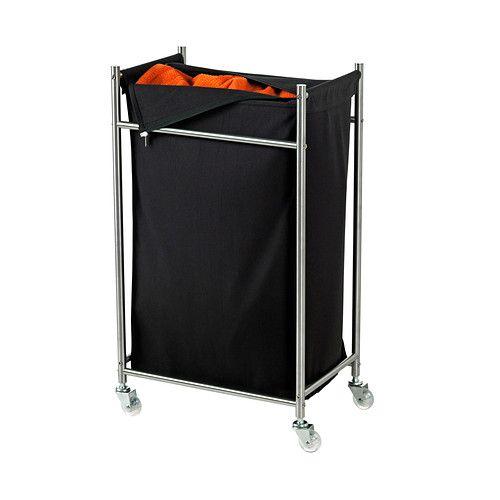 GRUNDTAL ランドリーバッグ キャスター付き  - IKEA