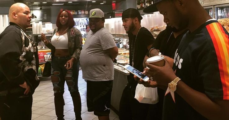 Square Zero with Fat Joe, Remy Ma, Fred the god son and Papoose....July 12, 2016