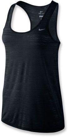 Nike Dri Fit Touch Breeze Tank Top - Womens