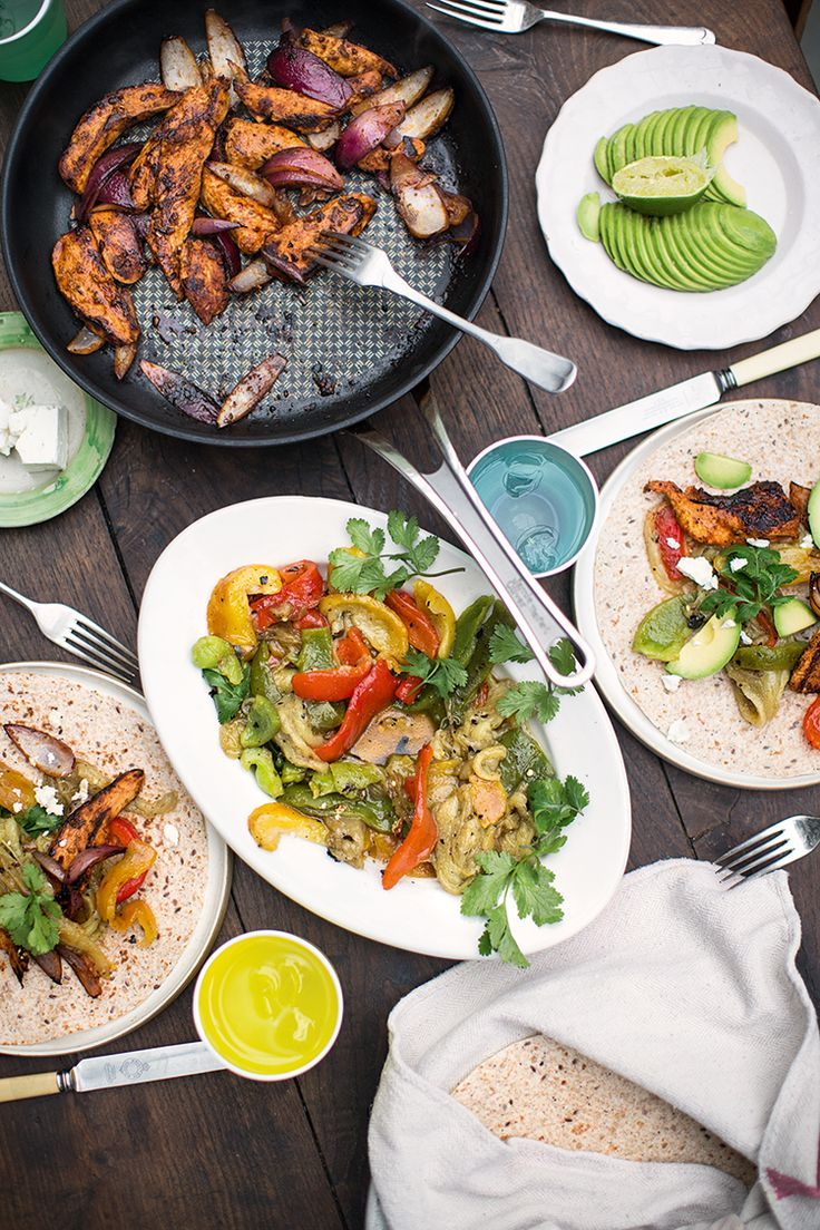 Foodie Friday - Chicken Fajitas Recipe - Party Pieces Blog & Inspiration