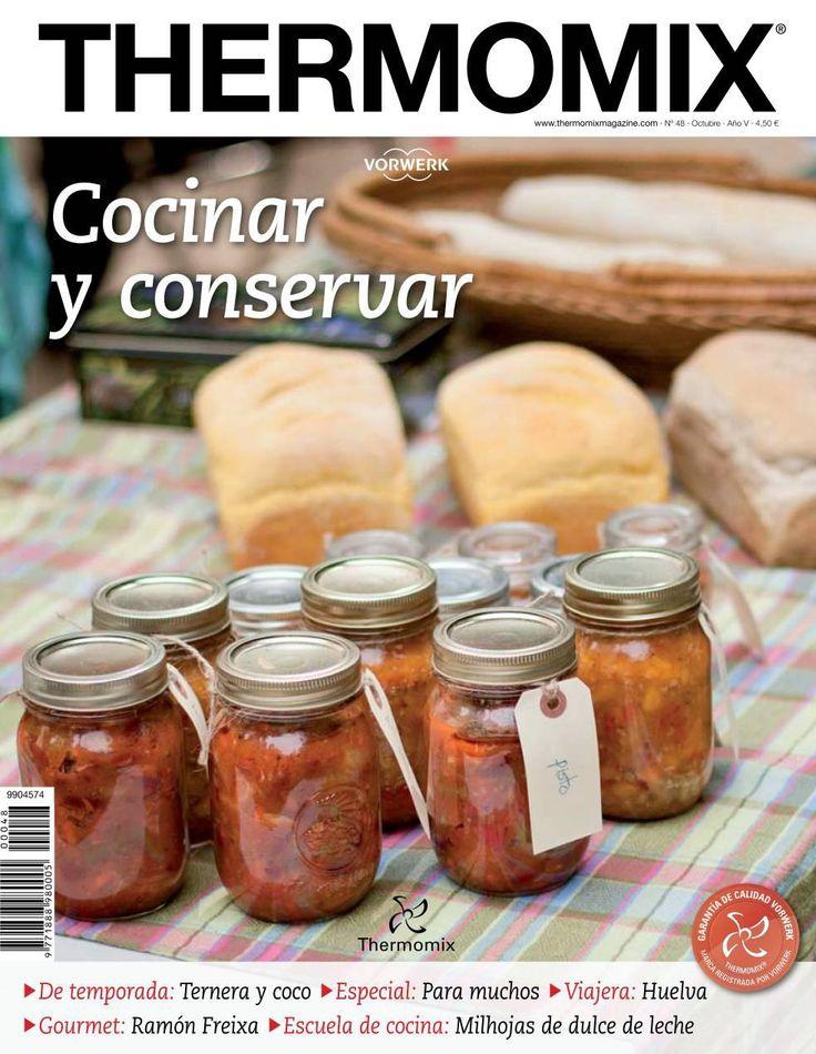 Revista Thermomix n 48 cocinar y conservar