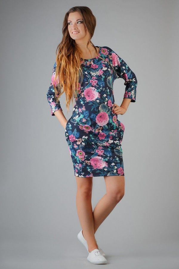 Sukienka Kami kwiat - Tessita