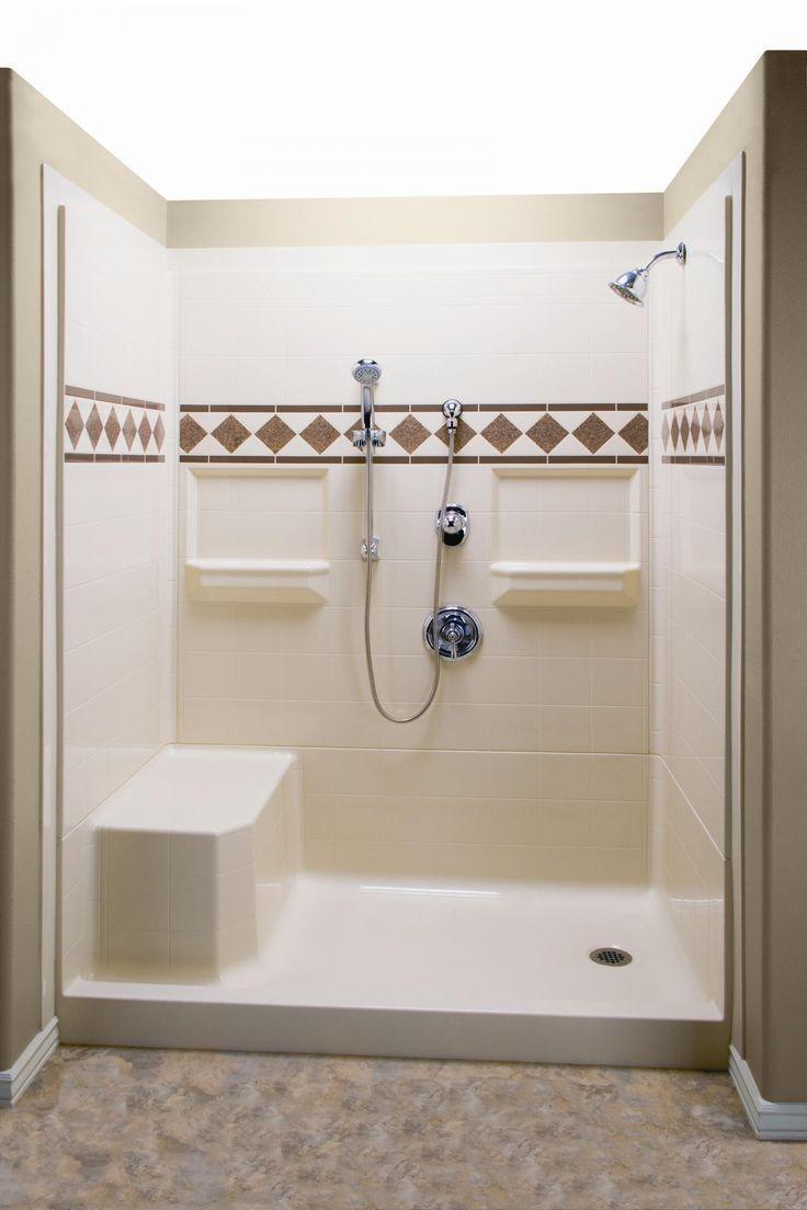 Modern Lowes Shower Enclosures for Cozy Bathroom Ideas: Swanstone Shower Panels   Frameless Glass Shower Doors   Lowes Shower Enclosures #ShowerEnclosure