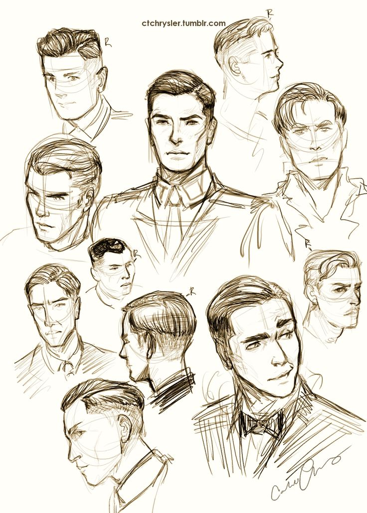 Best The Face Images On Pinterest Face The Face And Digital Art - Hairstyle boy drawing