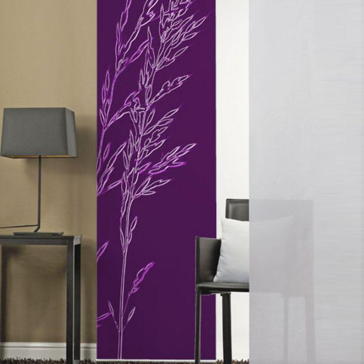 1000 id es sur le th me rideau violet sur pinterest peindre la ruche et couleur noire - Panneau japonais la redoute ...