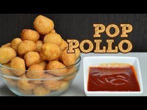 PALOMITAS DE POLLO CASERAS   MUSAS   ROSETAS DE POLLO ESTILO KFC - YouTube