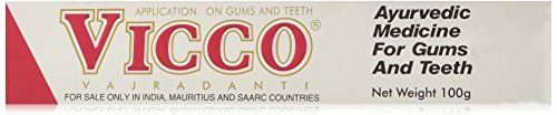 #Vicco Vajradanti Ayurvedic Paste is used in hardening of gums and teeth, cleansing and healing of wounds, tooth caries and inflammation of gums. It is also used...