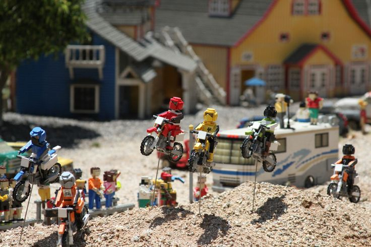 Legoland california motocross adventure carlsbad lego for What is dirt made out of