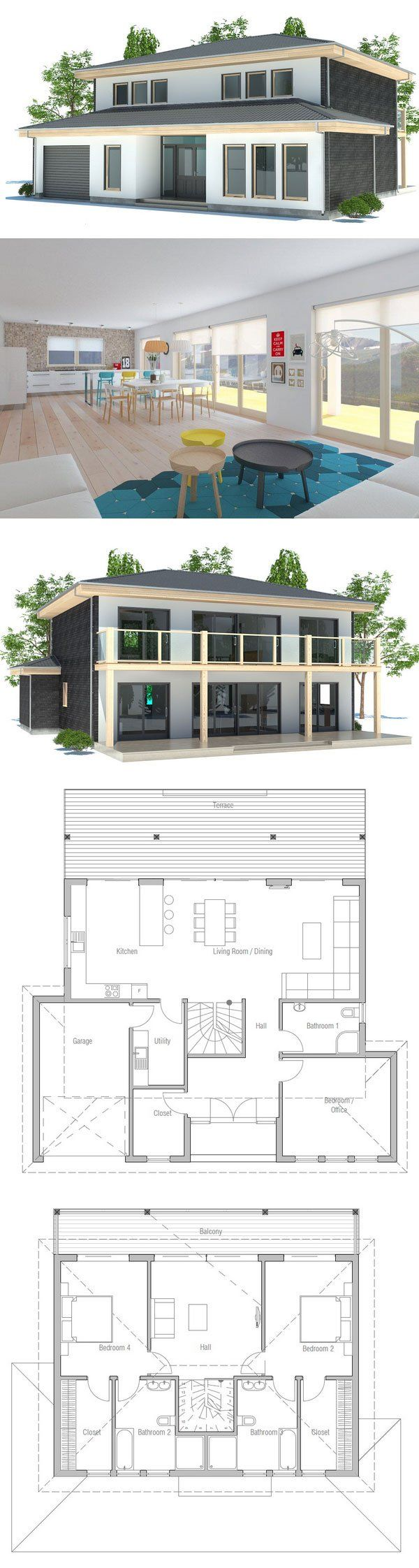 ^ 1000+ images about Modern house plans on Pinterest Small modern ...