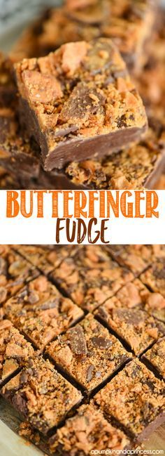 Butterfinger Fudge Recipe from MichaelsMakers A Pumpkin And A Princess