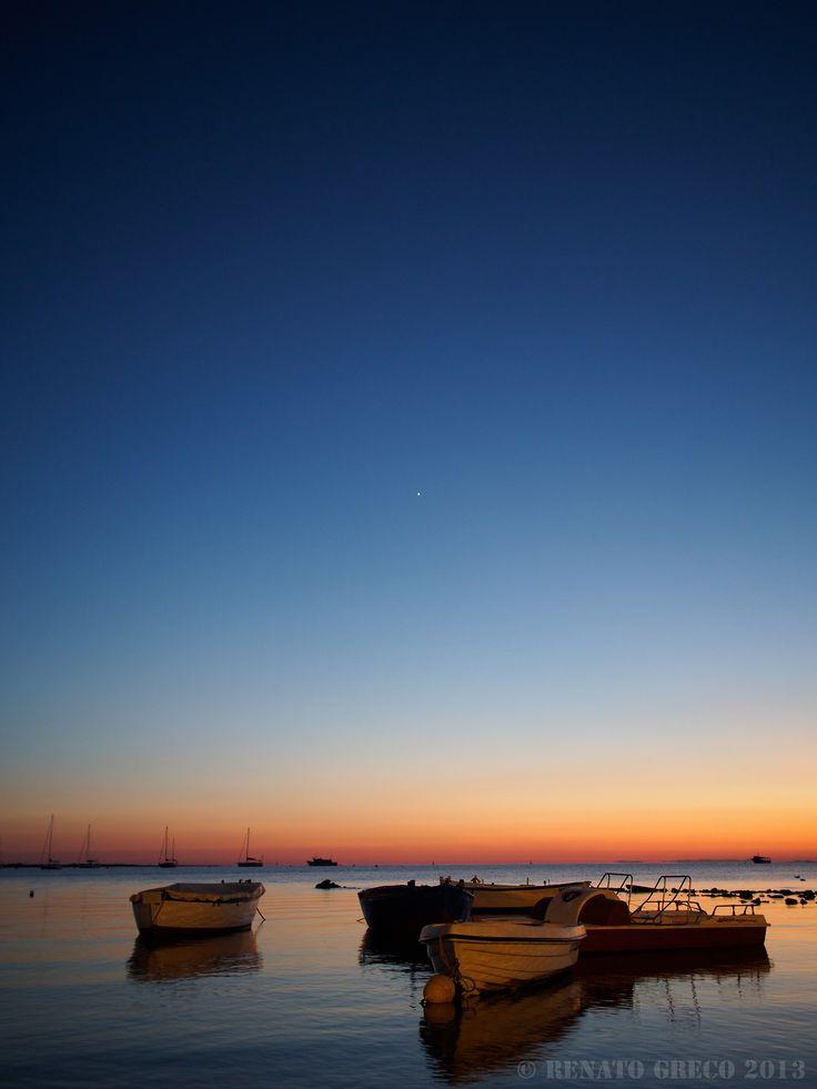 Porto Cesareo (Le) - sunset on the Ionio sea [Olympus OMD EM5 - Zuiko 17/1,8]