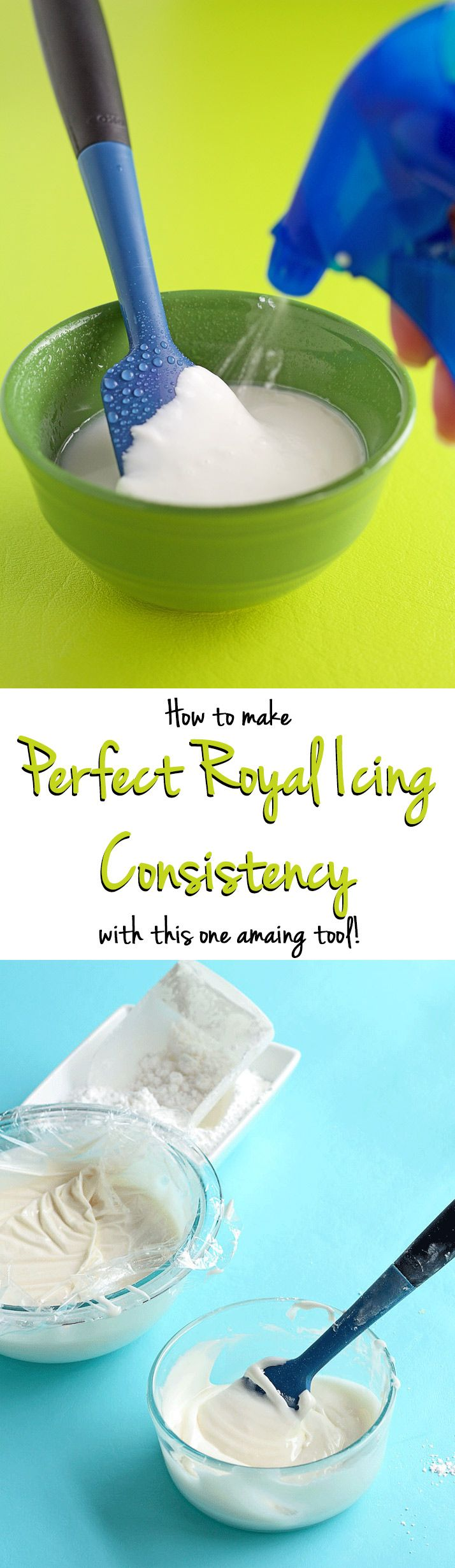 How to Thin Royal Icing for a Perfect Consistency for Your Decorated Sugar Cookies | The Bearfoot Baker