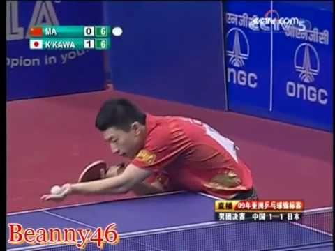 #36 Japanese player defeats Ma Long 3-0