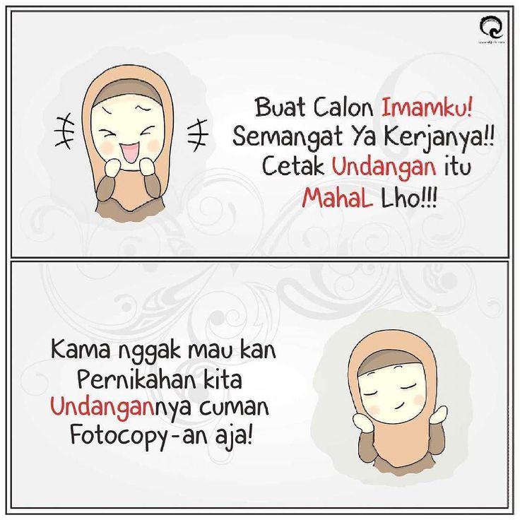 Calon Imam Kuuu... dimanakah kau berada ! :'( .  Gak Boleh Tag Pacar..! Tag Calon Ibu Mertua Saja . #Ckck #QodeKeras