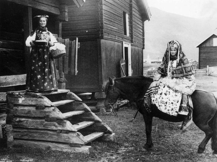 Norsk Folkemuseum - Fotograf Lindahl, Axel