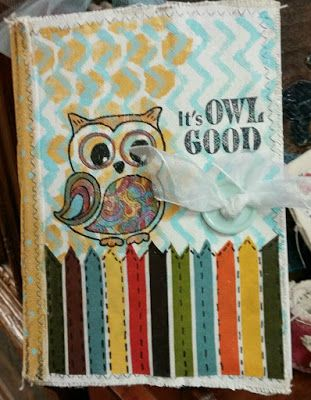 Linnie Blooms Design Team Blog: Adorable Art Journal and more