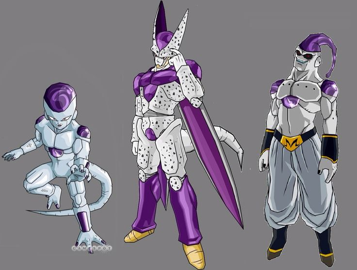 30 best Freiza and Cooler Transformations images on ...