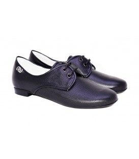 LEATHER OXFORD DESIGNER LOU Oxford shoes from the new Spring-Summer collection Lou. AVAILABLE COLORS:SILVER BLACK