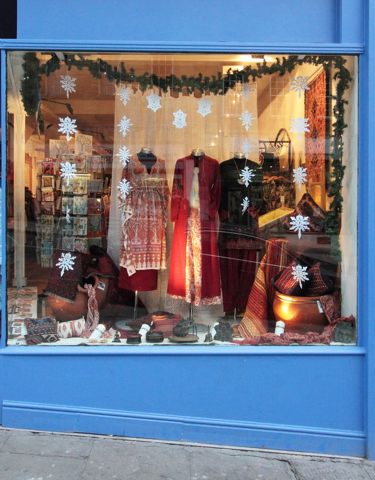 Bristol store window display