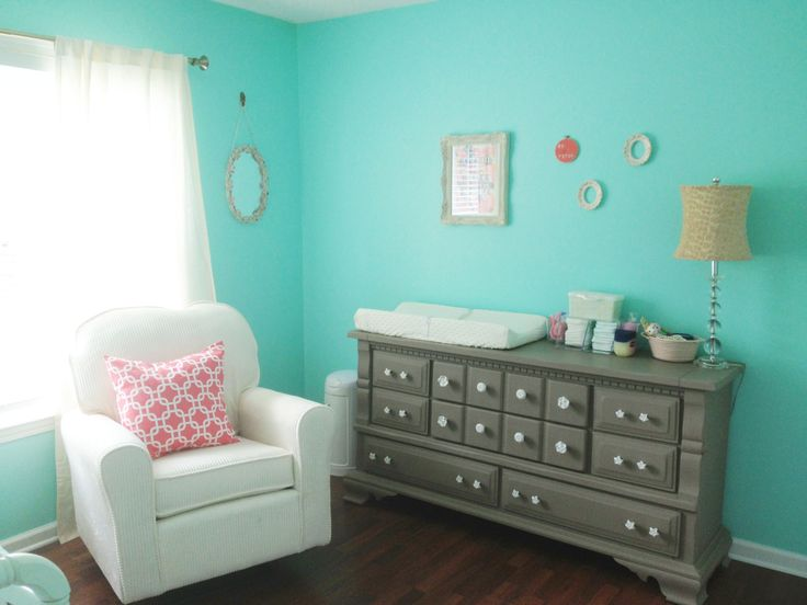Coral And Aqua Nursery Kylie S Room Pinterest Aqua