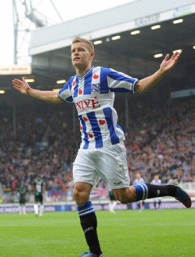 SC Heerenveen winner of the derby of the North