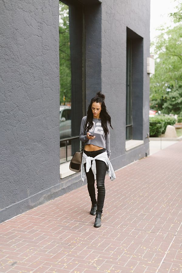 Crop Tops Are my JAM | Styled Avenue